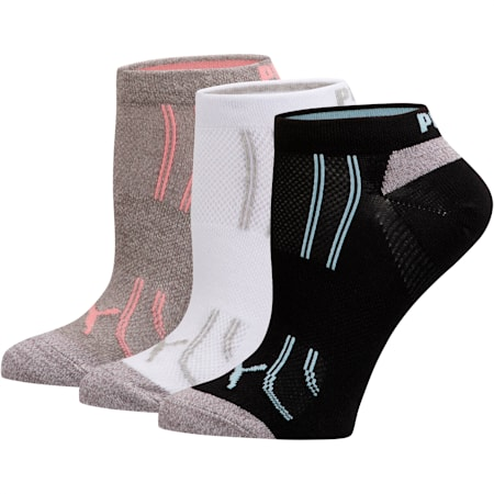 Modal Women's Low Cut Socks [3 Pack], PSTL COMBO, small